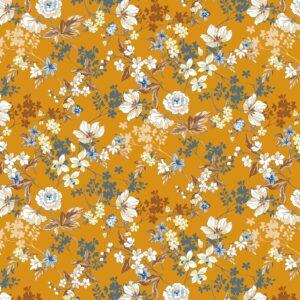 Viscosa mostaza de flores