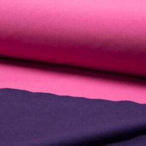 Tela de softshell rosa fucsia.