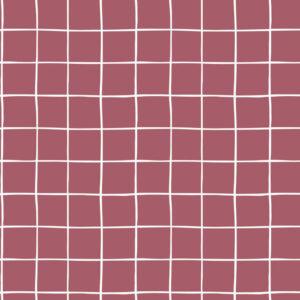 Sudadera rosa con cuadros blancos