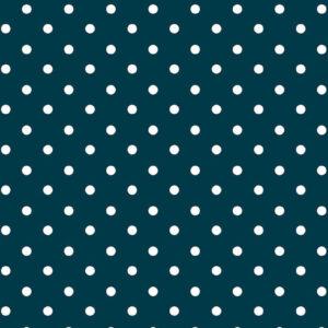 Viscosa azul con lunares blancos