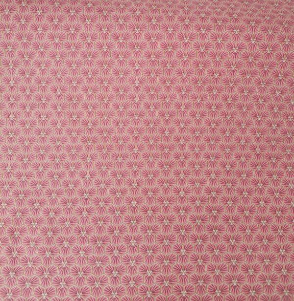 tela kimono geométrica rosa