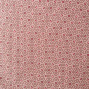 Tela kimono asanoha rosa