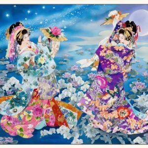 Panel de Geishas grande