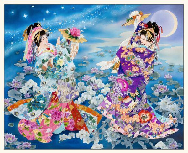 Panel geishas grande