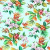 Tela hawaiiana celeste palmeras