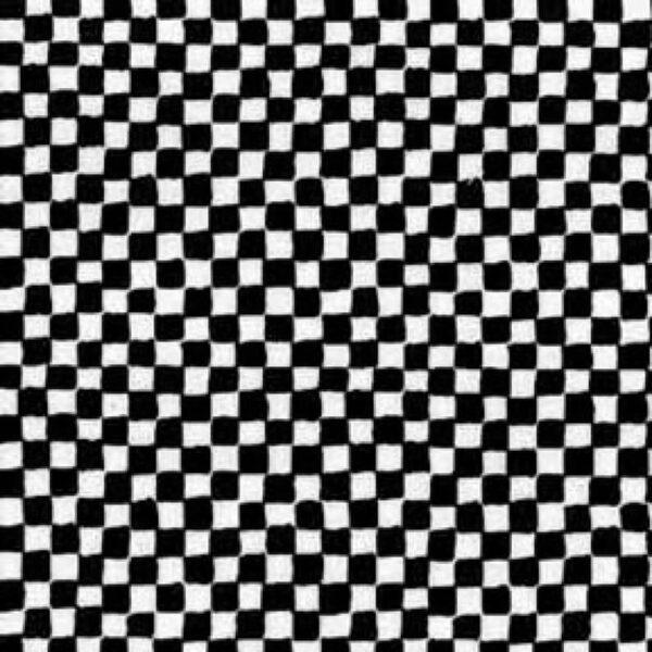 Algodón estampado ajedrez