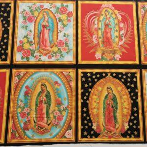 Panel de Vírgenes de Guadalupe