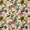 Tela de flores abstractas
