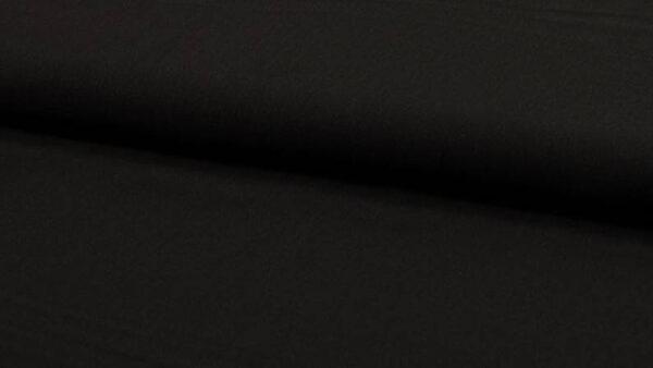 Crepe de viscosa negro