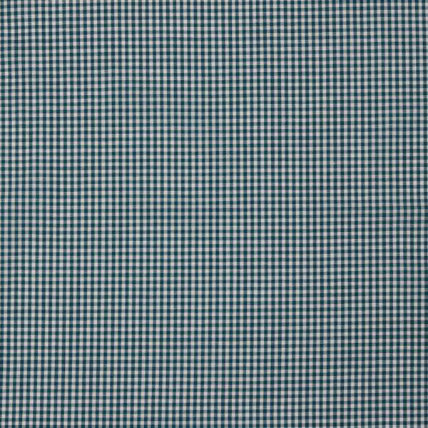 tela de cuadros azul petróleo