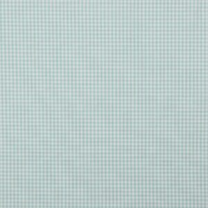 Vichy azul turquesa y blanco