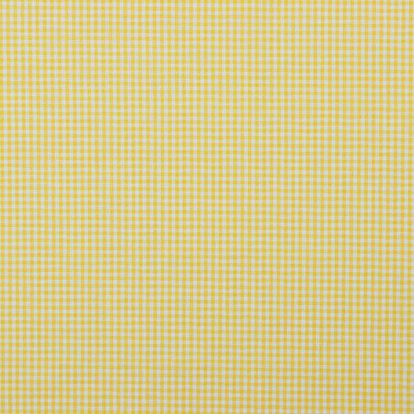 tela de cuadros amarillo y blanco