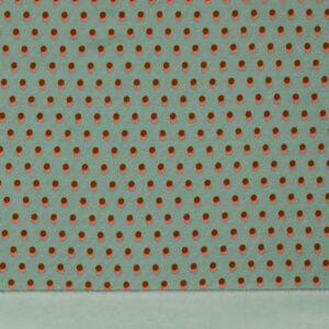Sudadera doble cara azul puntos