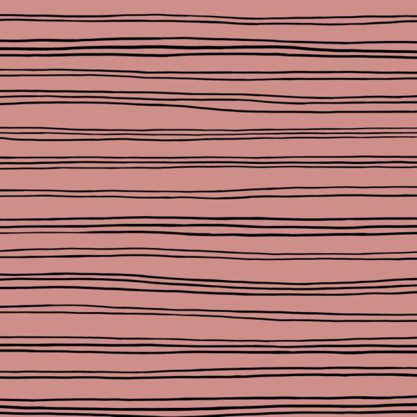 Sudadera perchada rosa palo