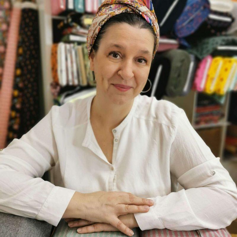 Blanca, fundadora de la retalera
